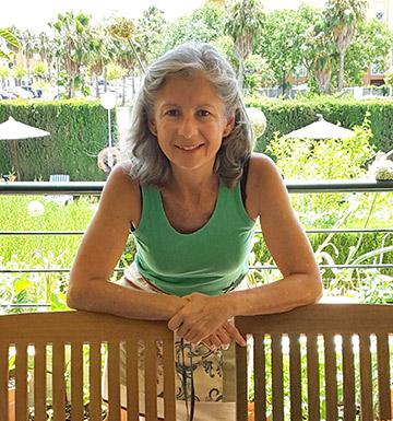 Naty Sanz, ecovegana de Cádiz
