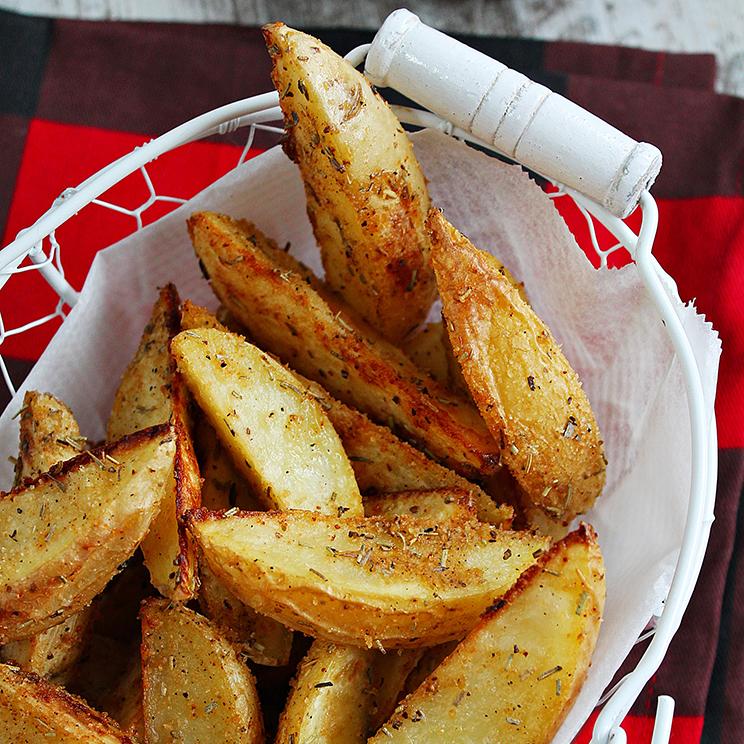 Receta paso a paso de patatas gajo al horno