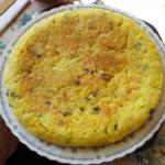 Receta de tortilla de patatas vegana con cebolla